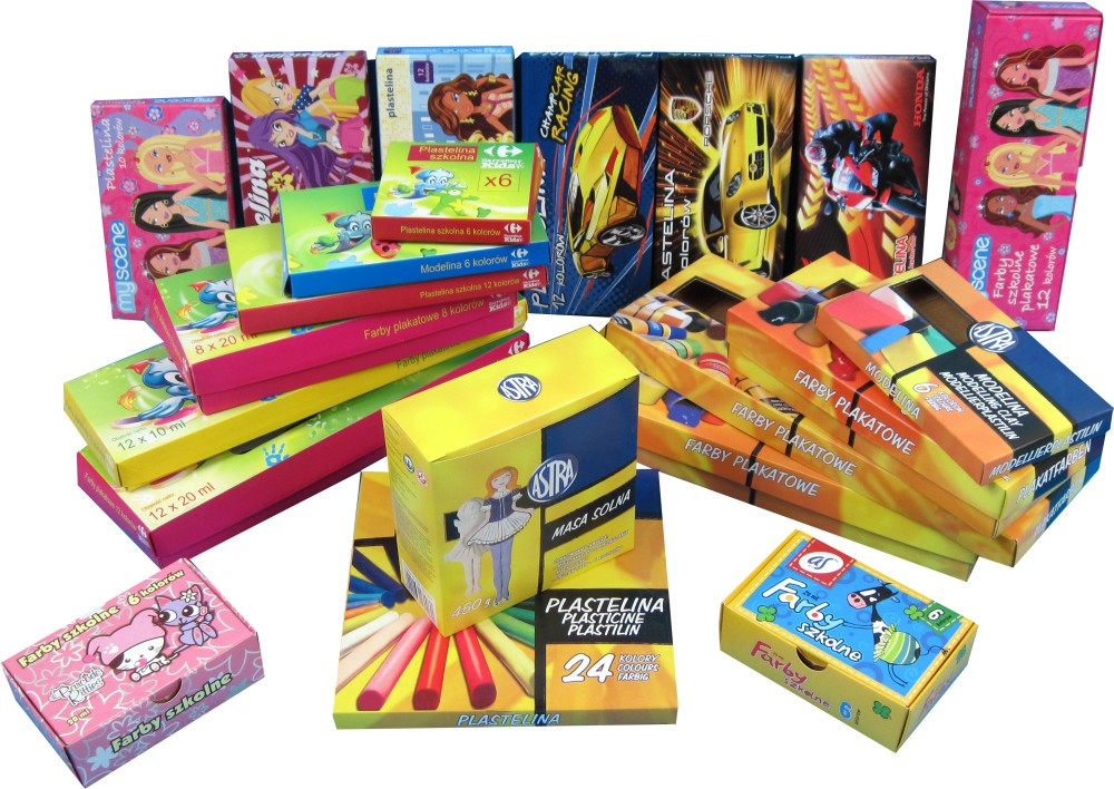 Kupić Papierowe torby z kolorowym nadrukiem