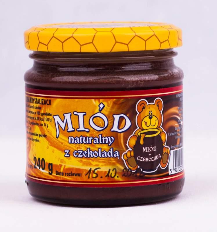 Kupić Miód z czekoladą 240g
