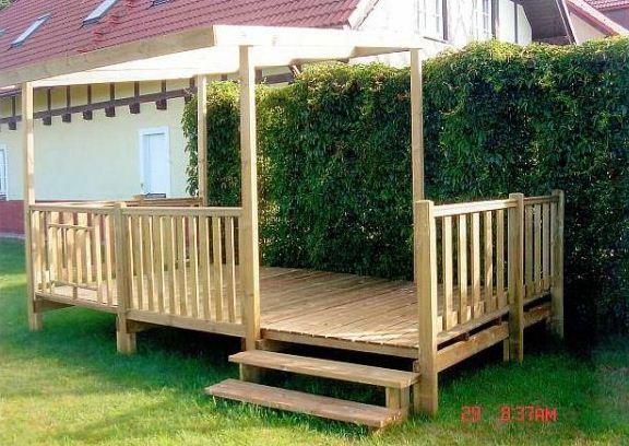 Gotowe tarasy drewniane — Kupić Gotowe tarasy drewniane, Koszt , zdjęcie Gotowe tarasy drewniane ...