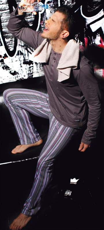 Kupić Piżama męska Stripes SU12612