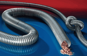 Kupić Ciężko-palne węże poliuretanowe Timberduc® PUR 532 SE