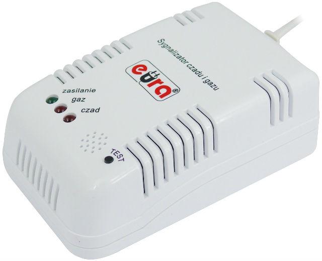 Kupić Sygnalizator czadu i gazu EURA GS-890
