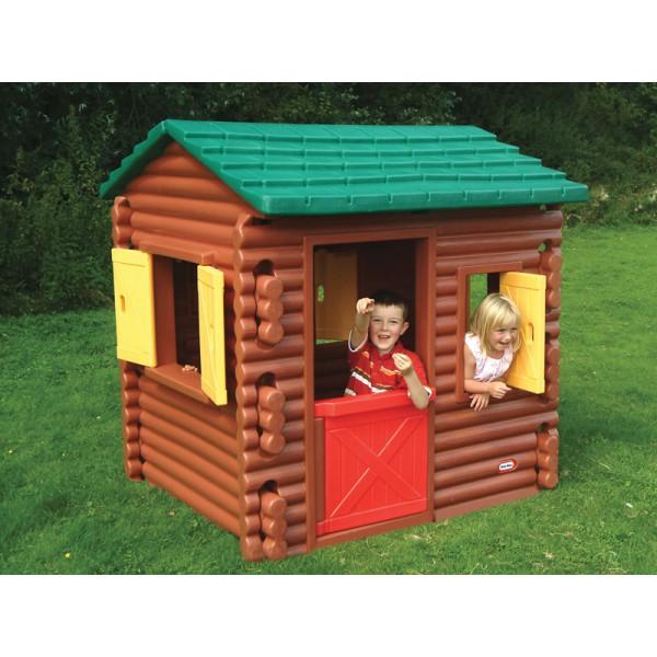 Kupić Little tikes Domek ogrodowy leśna chata z belek