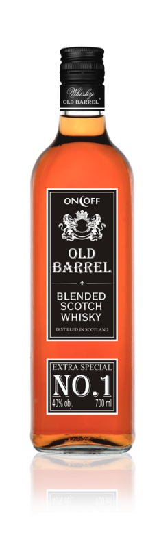 Kupić Whisky Old Barrel 700 ml 40% obj.