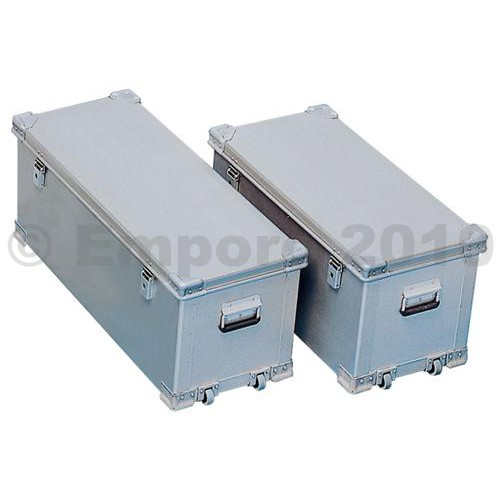 Kupić Aluminiowy transportowy pojemnik dla profesjonalistów, mobilny, pojemność 100 l