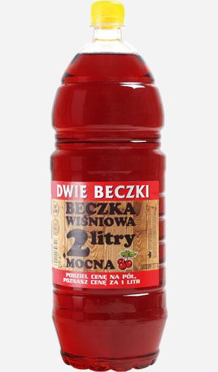 Wina owocowe Beczka 2L Wiśnia