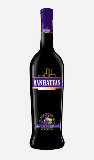 Wina deserowe Manhattan Black Currant