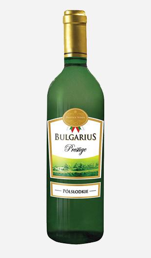Wino półsłodkie Bulgarius białe