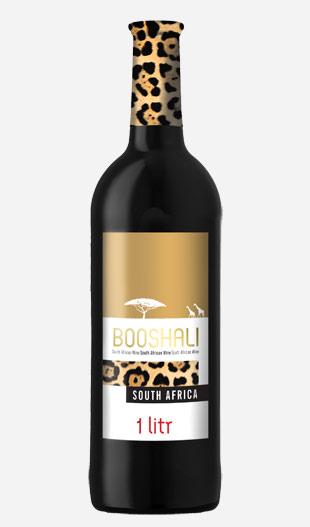 Kupić Wino półwytrawne Booshali czerwone