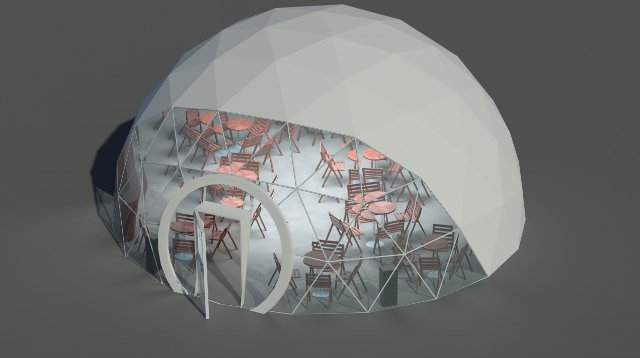 Kupić Namioty sferyczne