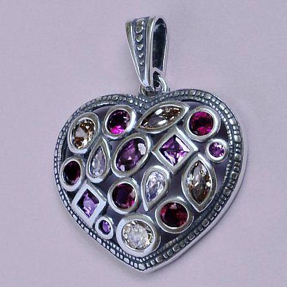 Kupić Wisiorek srebrny w kształcie serca