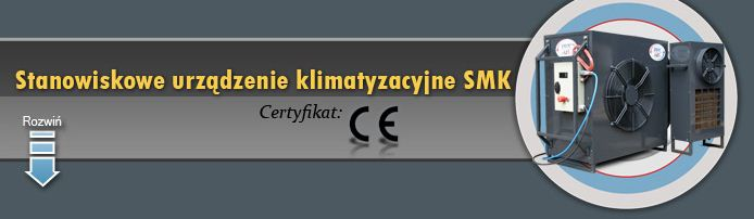 Stanowiskowe urządzenie klimatyzacyjne SMK