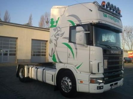 Kupić Ciągnik siodłowy SCANIA Scania 124 420