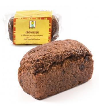 Kupić Chleb esseński ze skiełkowanego ziarna orkiszu z rodzynkami bio 400g