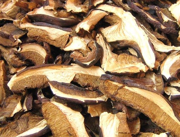 Kupić Suszone borowiki i inne grzyby leśne