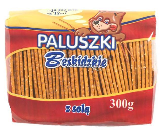 Kupić Paluszki beskidz.sol.300g a 10/AKSAM/
