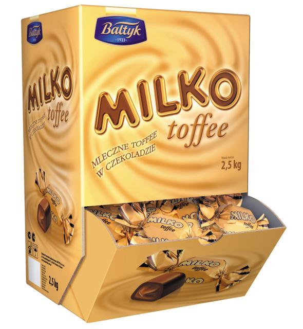Kupić Cukierli Milko Toffee luz a 2.5kg