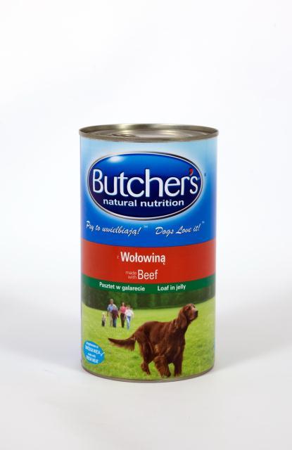 Kupić Karma z wołowiną 1200g a 6/puszka/Butcher's/