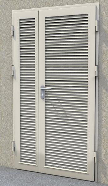 Drzwi zaluzjowe