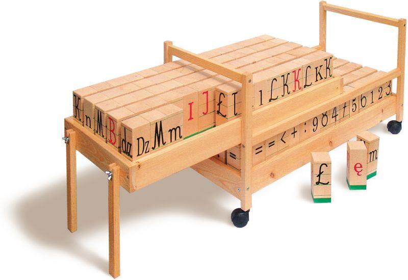 Kupić Klocki logo – duże, drewniane, do demonstrowania