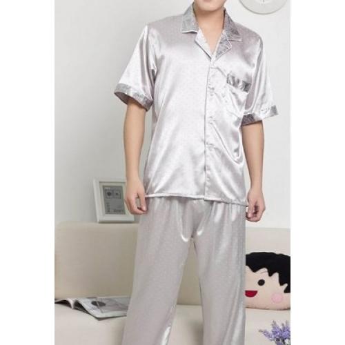 Wszystkie nowe Jedwabna piżama, krótki rękaw kupić w Czechowice-Dziedzice EP43
