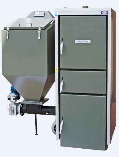 Kupić Kotły wodne, węglowe, niskotemperaturowe z regulowanym procesem palenia, opalane węglem asortymentu groszek energetyczny.