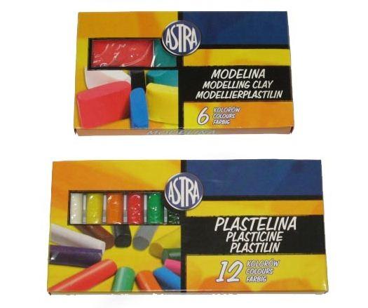 Kupić Zestawy 6, 10, 12 kolorów plastelin i modelin