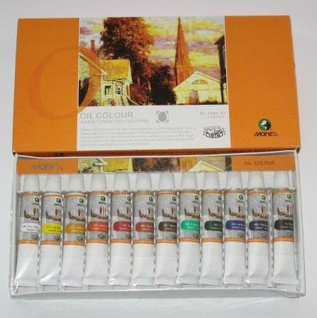 Kupić Zestawy farb olejnych, akrylowych i akwarelowych