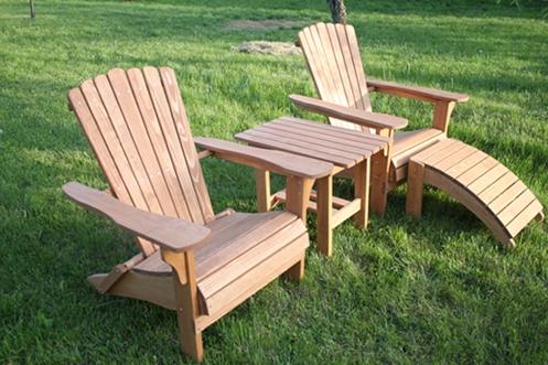 Kupić Fotele drewniane dla turystyki