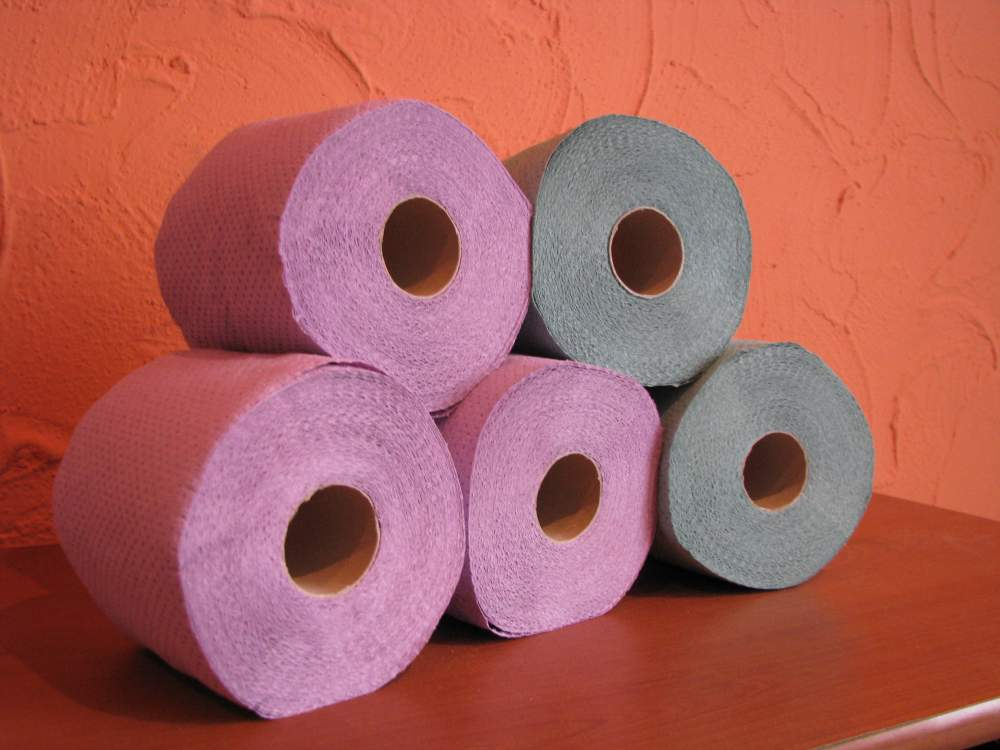 Kupić Papier toaletowy mniejsze rolki, kolor