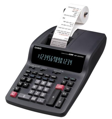 Kupić Kalkulator CASIO DR-320TEC z drukarką