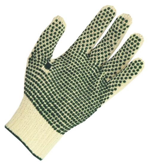 Kupić Rękawice bawełna + poliester, dwustronnie nakrapiane PVC