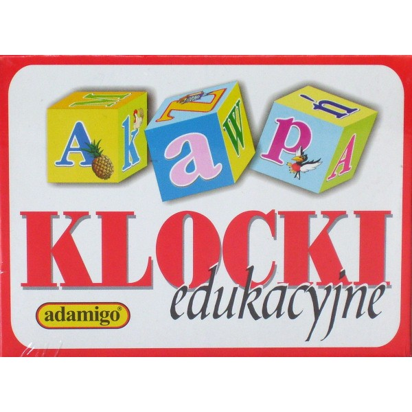 Kupić Klocki Edukacyjne Literki