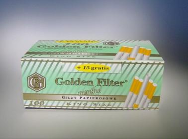 Kupić Gilzy do papierosów o smaku mentolowym