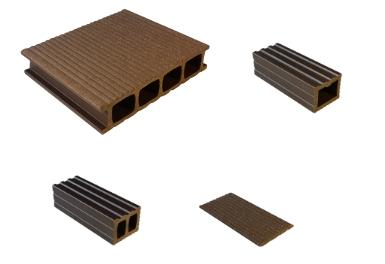 Kupić Deski tarasowe z kompozytu polimerów i włókien drewna