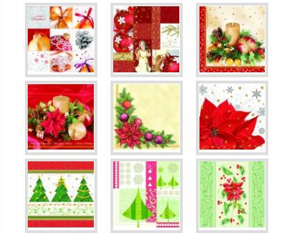 Kupić Chusteczki papierowe świąteczne.