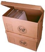 Kupić Pudło archiwizacyjne z tektury białej lub szarej