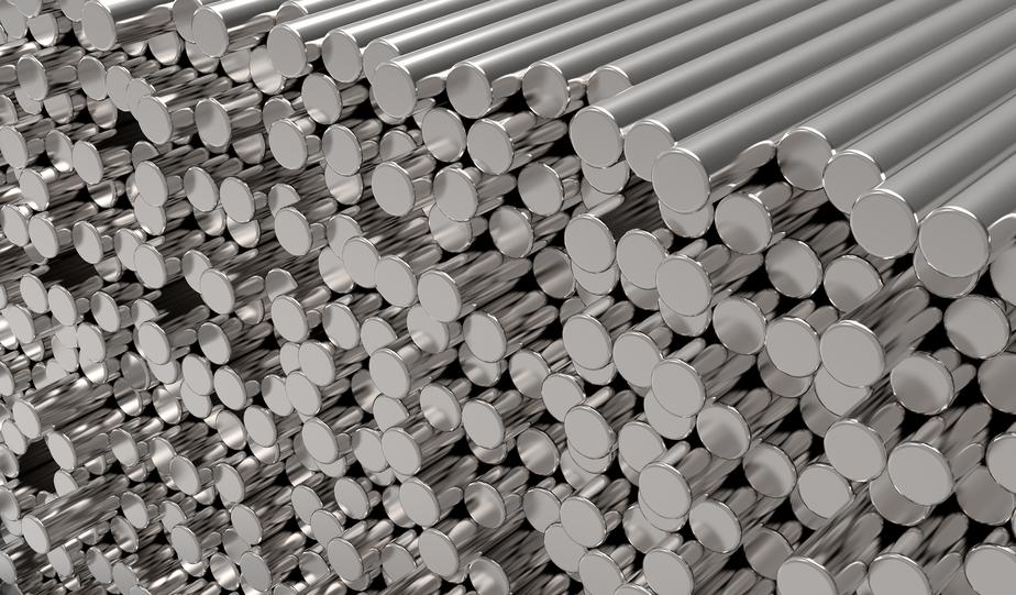Metalowe pręty