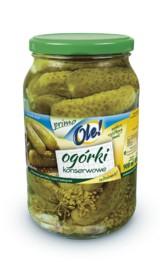 Kupić Ogórki konserwowe OLE! Primo 900 ml