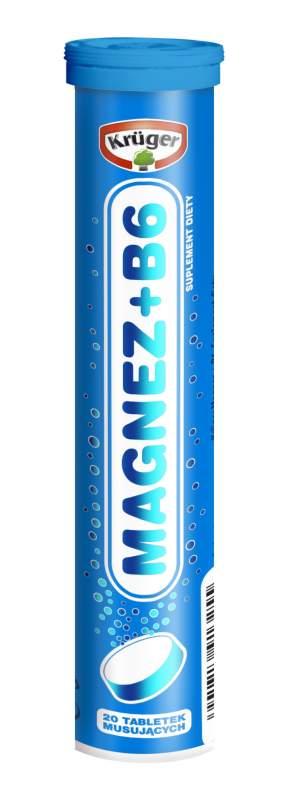 Kupić Magnez+Witamina B6 - tabletki musujące