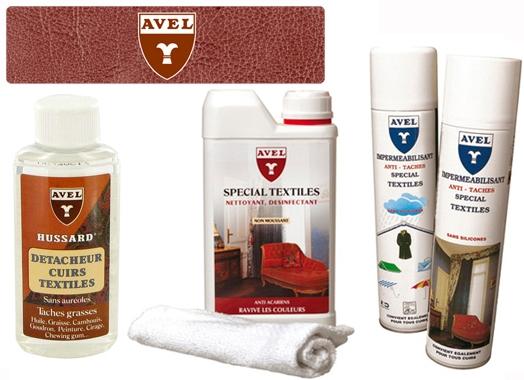 Kupić Zestaw do czyszczenia tekstylnych tapicerek samochodowych i mebli Avel