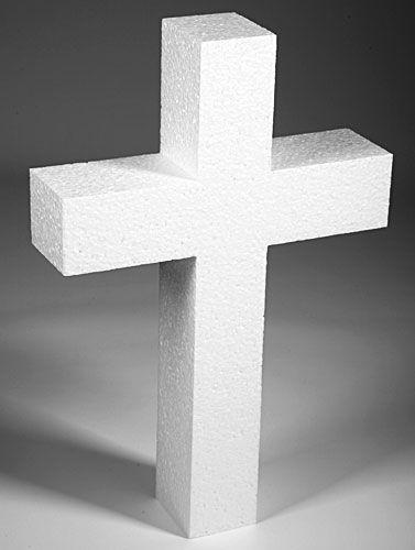 Kupić Krzyż styropianowy 40 cm