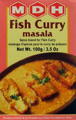 Kupić Mieszanka do ryby w sosie curry Fish Curry Masala - 100g