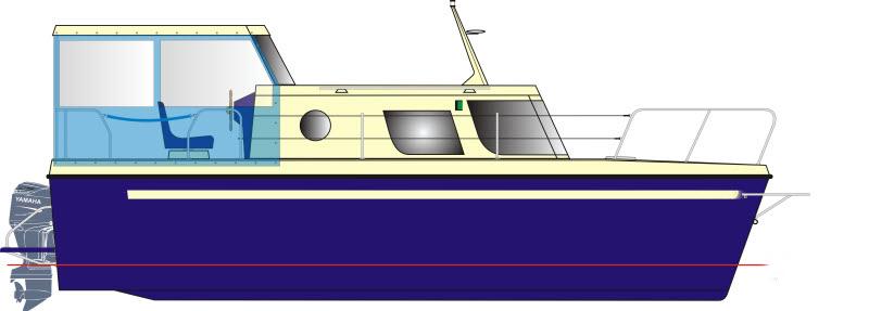 Kupić Jacht Motorowo - kabinowy Wiking