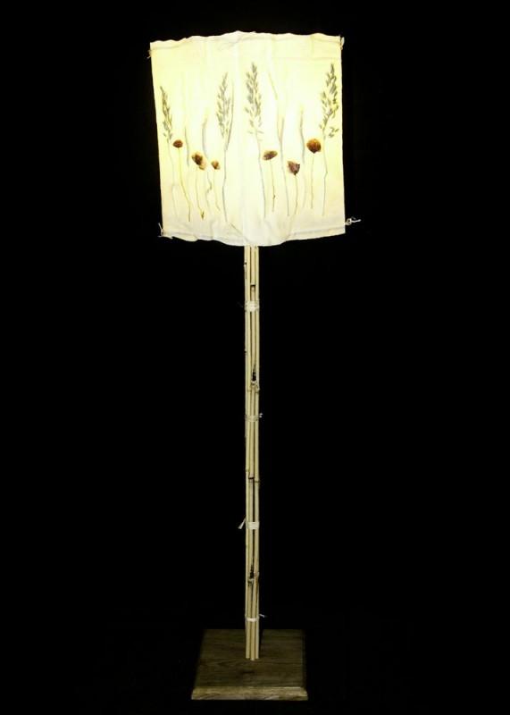 Kupić Lampa podłogowa - maki w zbożu - P160-7