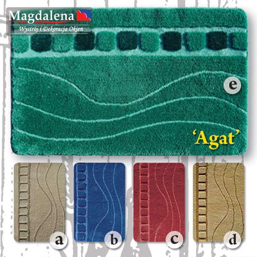 Kupić Komplet trzech dywaników łazienkowych Agat