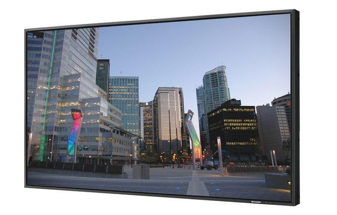 """Kupić Wielkoformatowy monitor LCD 60"""" (152 cm), Full HD Sharp PN-E601"""