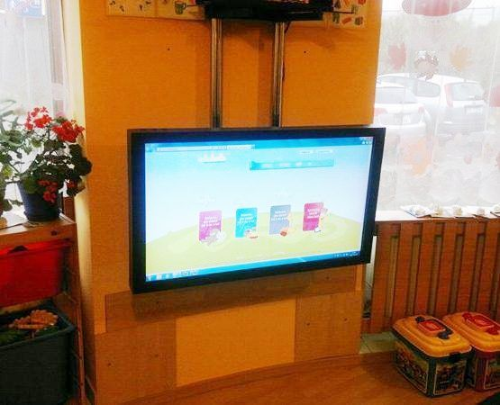 """Kupić Tablica interaktywna 32"""" monitor dotykowy LCD + miniPC + uchwyt"""