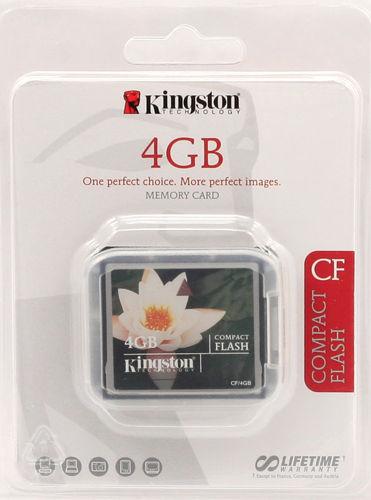 Kupić Kingston CompactFlash 4GB (CF/4GB)