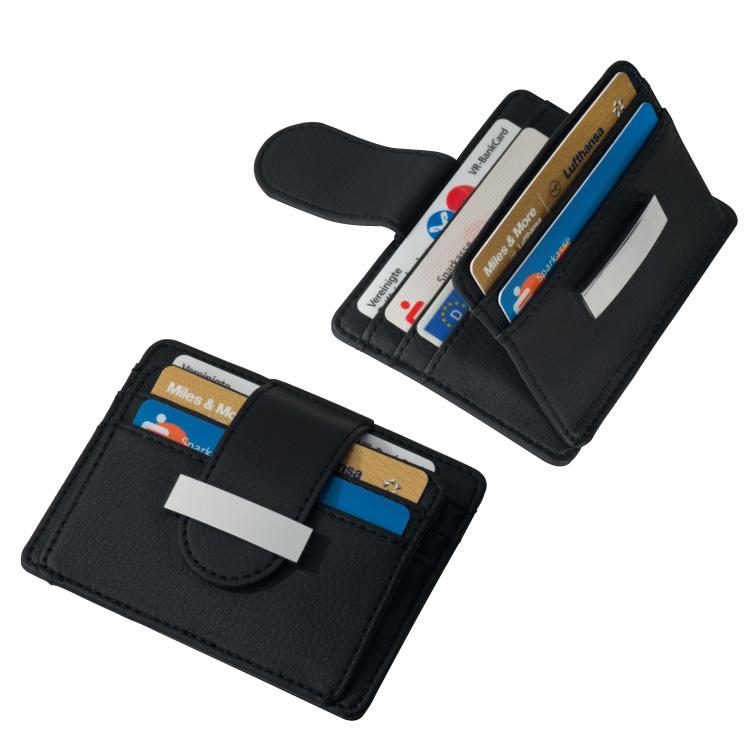 Kupić Etui na wizytówki `Ovada` , kolor czarny